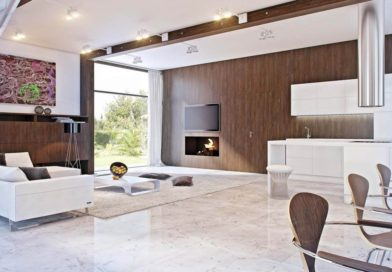 Pemilihan Warna Cat Ruang Tamu Rumah Minimalis modern